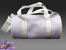 Vinatge LACOSTE Womens Roll Shoulder Bag Handbag Classic 2.23 Lavender AUTHENTIC