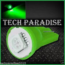 4x Ampoule T10 / W5W / W3W LED 1 SMD 5050 Green Vert veilleuse lampe light