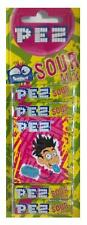 Pack Of 8 PEZ Refills Sour Mix Flavour Sweets For PEZ Dispenser - New
