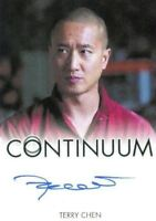 Continuum Seasons 1 & 2 Terry Chen as Curtis Chen Autograph Card
