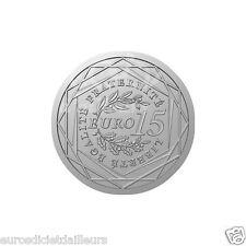 Pièce 15 euros FRANCE 2008 - La Semeuse en Marche - Argent 900/1000 - UNC