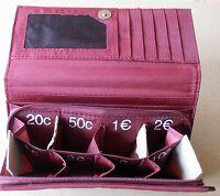 Geldbörse - Kartenfach - Kleingeldfach mit Reißverschluss - Stoffgeldbörse - neu