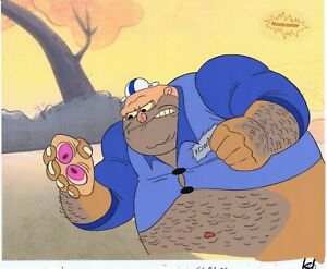 Ren & Stimpy Original 1990 Animation Art Production Cel Fake Dad Kowalski