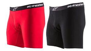 Alpinestars Cotton Brief Herren Boxershorts mit Eingriff - Unterhose Baumwolle