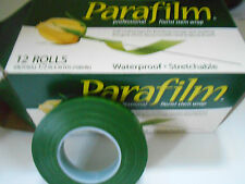 1 X ROLL 1/2 INCH X 30 YDS PARAFILM WATERPROOF STRETCHABLE  PROFESSIONAL WRAP