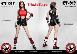 Cat Toys 1/6 Female Video Game Character Set Tekken Asuka Red CT013-B USA