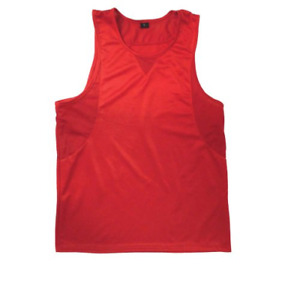 Ringside In-Stock Boxing Jersey Red, Large