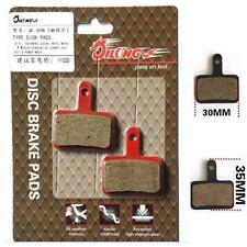 Pair Organic Bike Disc Brake pads for Shimano M375,M956,M395,M446&M515/TEKTRO E