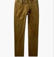 $450 Ralph Lauren Purple Label Eaton Slim Fit Cotton Stretch Twill Chino Pants