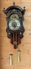 Sallander Dutch Zaanse HERMLE Wall Clock Moonphase  cuppercarved dial SA 29