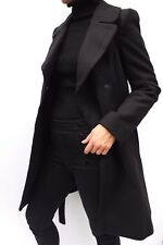 Oasis Annabel Belted Wool Fit & Flare Soft Trench Jacket Coat XS 8 to L 14