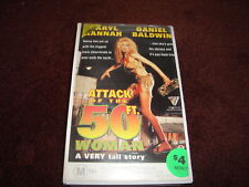 ATTACK OF THE 50FT. WOMAN - DARYL HANNAH-RARE VHS VIDEO