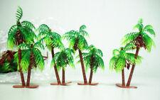 "Miniature plastic palm Trees  5 "" ( 40 pcs.)"