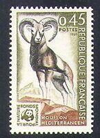 France 1969 Mouflon/Sheep/Nature Protection/Conservation/WWF/Animals 1v (n38248)