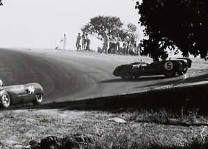 Bruce McLaren at Laguna Seca 4x6 Vintage 60's Photograph Image #104