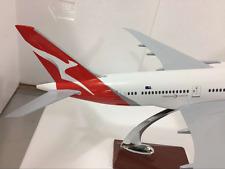 QANTAS DREAMLINER LARGE PLANE MODEL NEW LOGO 787 1:150 SOLD RESIN 1.2kg apx 43cm