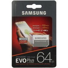 SAMSUNG MICROSD 64GB CLASE 10 CON ADAPTADOR SD FICHA MEMORIA UNIVERSAL