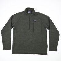 Patagonia Better Sweater Fleece Jacket Full Zip Dark Brown Outdoors Mens MEDIUM