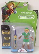World Of Nintendo : Jakks Pacific 2015 Legend Of Zelda Ocarina Link figure * NEW