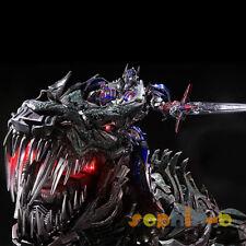 Transformers Movie 4 AOE Age of Extinction NEW Optimus Prime Grimlock PVC Statue