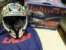 Casco de motocicleta MX5 X-PRO99 Everts Lazer extra pequeño (XS) X Pro 99 R28 Multi
