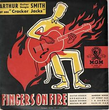 "Fingers on Fire-Arthur Smith-MGM Records- F1 MGM 103-Vinyl 10""-France-Rare"