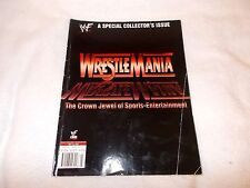 WWE Wrestling Magazine Wrestlemania Special Collectors Issue