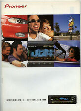 PIONEER - CAR AUDIO CATALOGO 1999   (  ORIGINAL CATALOG )