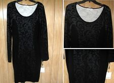 NEW Calvin Klein Casual Winter Dress Black Size: L   $134.00
