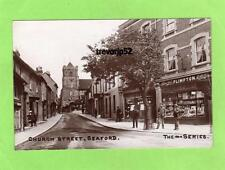 Church Street Seaford Shop Front RP pc used 1910 Ref B409