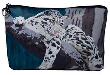 Clouded Leopard Cosmetic Bag by Salvador Kitti - Support Wildlife Conservation