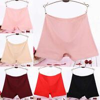 Women Shorts Pants Cotton High Waist Underwear Knickers Panties Soft Plus Size