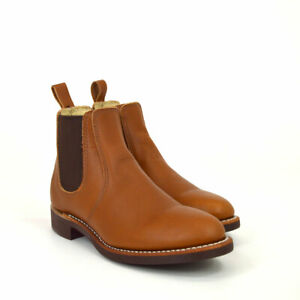 Red Wing Shoes 3456, Chelsea Boots, Pecan Boundary, Cognac, Braun, Leder, Neu