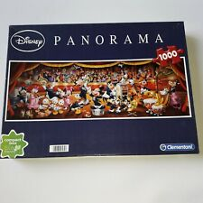 Clementoni jigsaw puzzle  Disney Panorama 1000 piece used