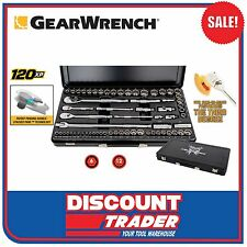 "GearWrench 64 Piece 120XP™ 1/4"" 3/8"" 1/2"" Metric/SAE Socket Set - 83066"