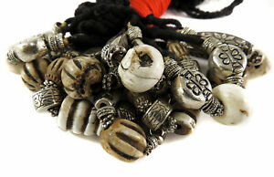 10 Tibetan Necklaces Silver Color Beads SALE WAS $36.00