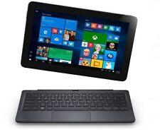 """Dell Latitude 2-in-1 Tablet 11"""" 128GB 4GB RAM Intel m3-6Y30 Keyboard/Stylus"""