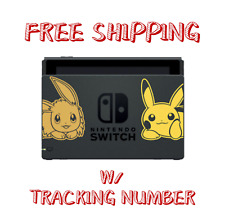 Nintendo Switch Let's Go Pikachu and Eevee Dock Pokemon Limited -- DOCK ONLY --