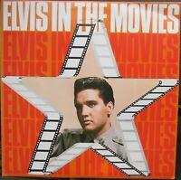 ELVIS PRESLEY ELVIS IN THE MOVIES LP Readers Digest RCA RDS9007 Excellent