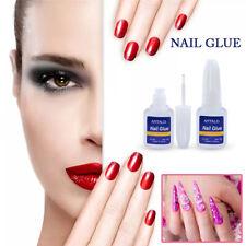 10g Adhesive Nail Glue Professional Acrylic Nail Art Tips Decor Manicure Tool-