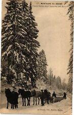 CPA Montagnes du DOUBS - Ouvertures des Chemins en Hiver (175742)