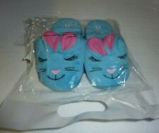 New Sealed Blue Bunny Girls Slippers Small 13/1 Size S-5