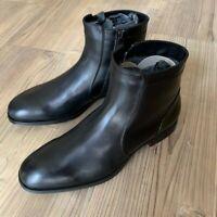 Baldinini Black Leather Made in Italy Boots Size 40 EU / UK 6 / US 7