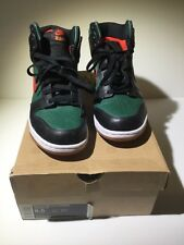 2009 Nike SB Dunk Supreme DJ CLARK KENT EAST Black Green Red 375378-361 Sz 8.5