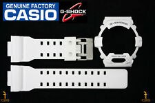 CASIO G-8900A-7 G-Shock Original White (Glossy) Rubber Watch BAND & BEZEL Combo