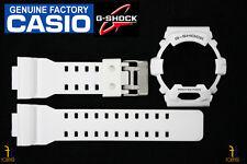 CASIO G-8900A-7 G-Shock Original White (Glossy) Rubber Watch BAND & BEZEL Combo