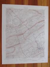 Pulaski Virginia 1945 Original Vintage USGS Topo Map