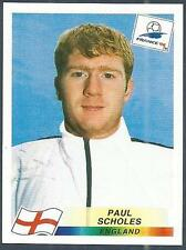 PANINI WORLD CUP FRANCE 1998- #474-ENGLAND & MANCHESTER UNITED-PAUL SCHOLES