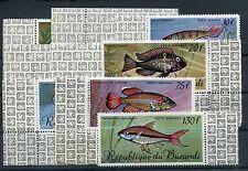 Burundi 359/62 postfrisch / Fische .......................................1/1960