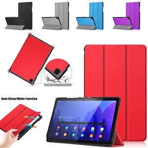 """Stylish Leather Smart Stand Case Cover For Samsung Tab S6 LITE10.4"""" SM-P610/P615"""